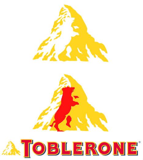 Toblerone Chocolate Logo Design
