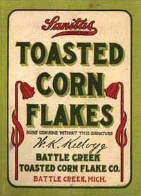 First CornFlakesPackage1906