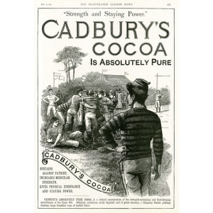 Cadbery Advert 1888