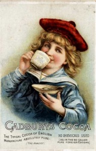 Cadbury Advert 1890
