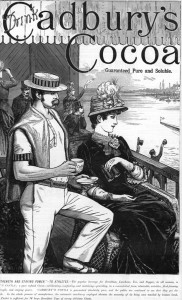 Cadbury's Cocoa Advert 1885