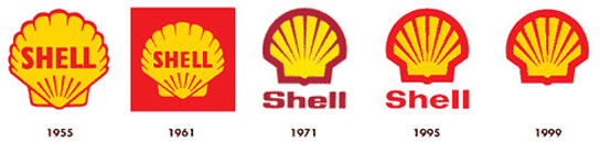 Shell red and yellow